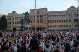Interviju sa organizatorima protesta u Makedoniji