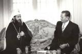 Patrijarh srpski German i Tito