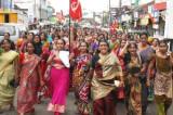 Stotine radnika Kerale u klasnoj borbi