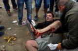 Makedonija suzavcem i gumenim mecima protiv imigranata (VIDEO)