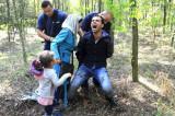 Hapšenje porodice izbeglica u Mađarskoj