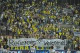 "Transparent ""Izbeglice niste dobro došli"""