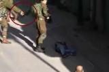 Podmetanje noža ubijenom Palestincu? (VIDEO)