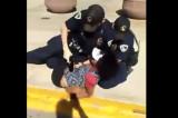 Policijsko iživljavanje nad devojkom (VIDEO)