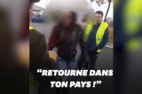 Rasistički napadi francuskih demonstranata! (VIDEO)