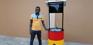 Ganac protiv koronavirusa: česma za pranje ruku na solarno napajanje (VIDEO)