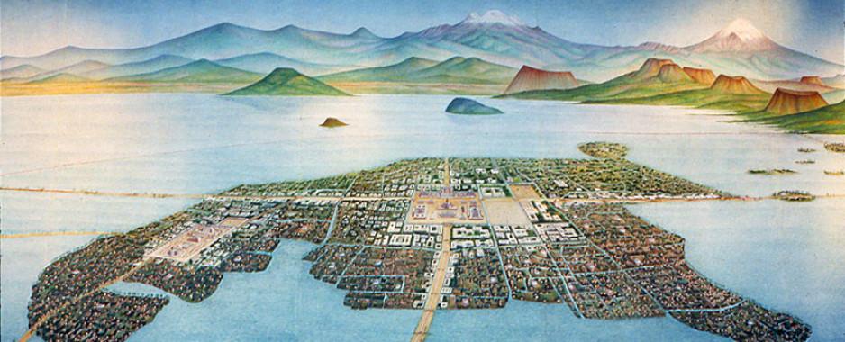 Ekološka prestonica Asteka – Tenočtitlan
