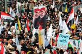 U Bagdadu obeležena godišnjica ubistva Kasema Sulejmanija masovnim protestima