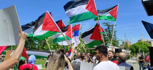 Skup podrške palestinskom narodu u Kragujevcu! (Video)