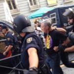 [Video] Policijska represija mirnog protesta republikanca u Madridu