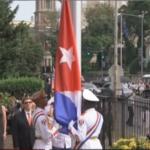 Podizanje kubanske zastave u Vašingtonu