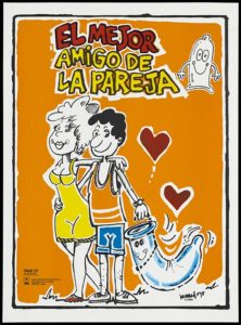 Safe-sex and AIDS prevention advert from Cuba, izvor: WIkimedia.org