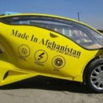 Avganistanski auto na solarni pogon