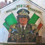 """Grafit Gadafija u Belfastu – """"Dobrodošli na teritoriju IRA-e"""""""