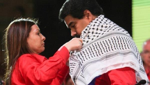 LindaAli-and-Pres.-Maduro