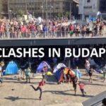 Izbeglice najurile neonaciste u Budimpešti (Video)