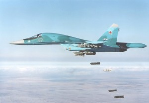 NAPO-Su-34-Dumb-Bomb-Drop-1S