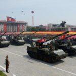 Vojna parada u Severnoj Koreji za 70. godišnjicu Partije