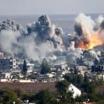 Kako izgledaju vazdušni udari u Siriji (VIDEO)