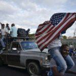 Venecuelanska opozicija slavi pobedu uz američku zastavu