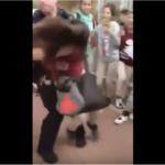 SAD: Policajac oborio 12-godišnjakinju na pod (VIDEO)