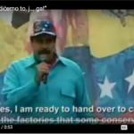 """Maduro obećava predaju fabrika narodu: """"Uradićemo to, j… ga!!!"""" (VIDEO)"""