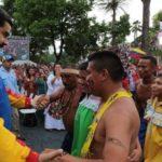 Domorodačko stanovništvo Venecuele u podršci Bolivarskoj revoluciji