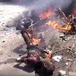 Horor! Video snimak posledica američkog bombardovanja u Siriji!