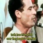 Prvo Gadafijevo obraćanje javnosti nakon revolucije (VIDEO)