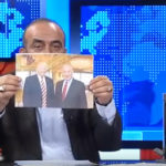 Turski novinar pocepao Trampovu sliku i zapalio izraelsku zastavu u programu! (VIDEO)