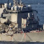 U sudaru američkog ratnog i japanskog teretnog broda poginulo sedam američkih vojnika