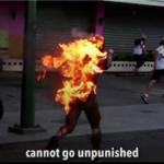 Divljanje opozicije: ubijen vojnik, troje ljudi spaljeno živo