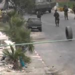 Kamionska guma napala izraelske vojnike! (VIDEO)