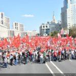 Komunistički protesti širom Rusije zbog penzione reforme! (VIDEO)