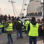 Britanski Žuti prsluci blokirali Vestminsterski most!
