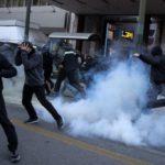 Oštar sukob levih demonstranata i policije u Atini