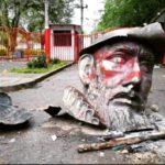 U Kolumbiji porušen još jedan spomenik španskog konkvistadora